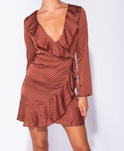 Load image into Gallery viewer, Aim Higher Mini Rust Dress