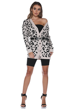 Load image into Gallery viewer, Wild Cardigan- Leopard