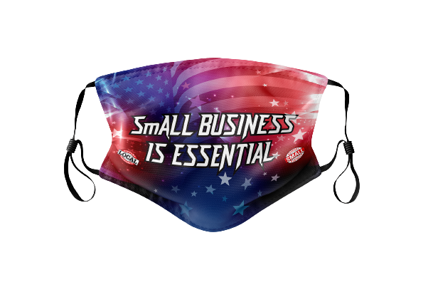 SmAll Business is Essential Face Mask
