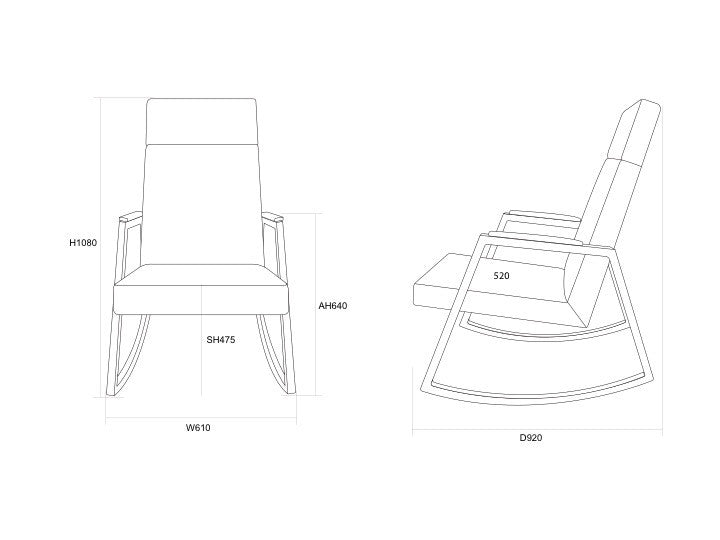 rocking chair drawing. INCY X HOBBE ROCKING CHAIR Rocking Chair Drawing
