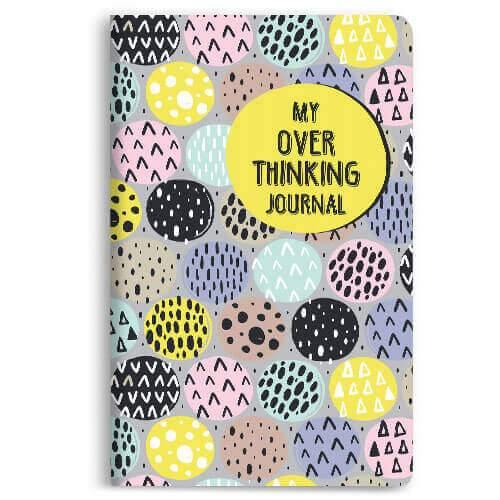 My Over Thinking Journal Notebook - morecurry