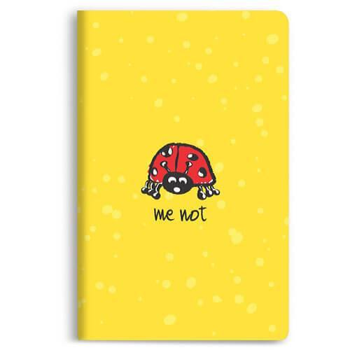 Bug Me Not Notebook - morecurry