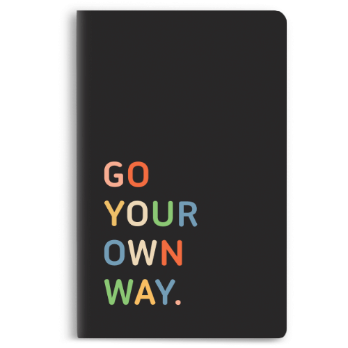 Go your own way Notebook - morecurry