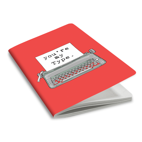 My Type Notebook - morecurry