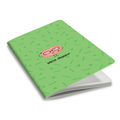 Idea Digger Notebook - morecurry