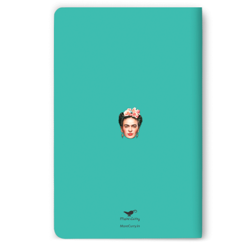 Frida Turquoise Notebook - morecurry