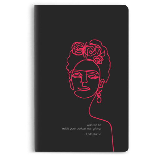 Frida Black Notebook - morecurry