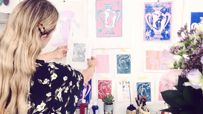 Illustrating the female form with artist Sasha Compton