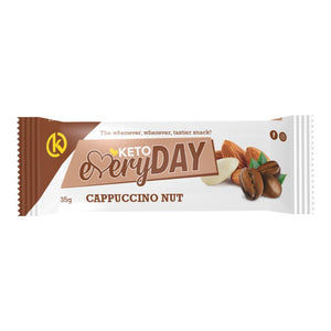 KETO EVERYDAY SNACK BAR – CAPPUCCINO NUT (35G)