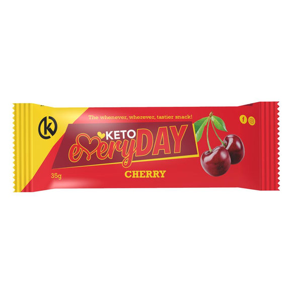 KETO EVERYDAY SNACK BAR – CHERRY (35G)