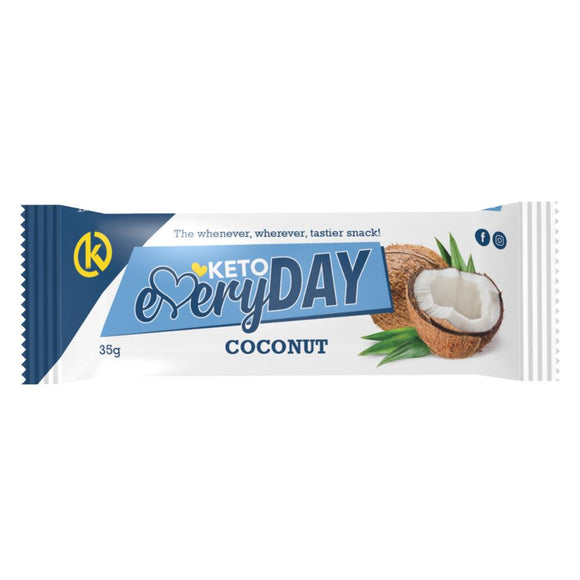 KETO EVERYDAY SNACK BAR – COCONUT (35G)
