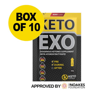 KETO EXO SACHETS – BERRY (10 BOX)