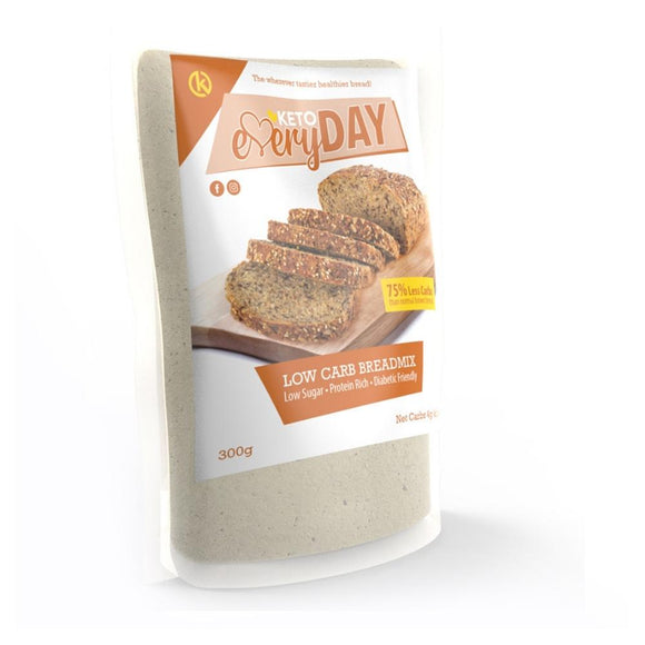 KETO EVERYDAY LOW CARB BREAD MIX (300G)