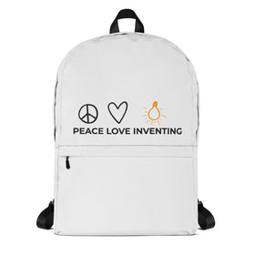 Peace Love Inventing Backpack