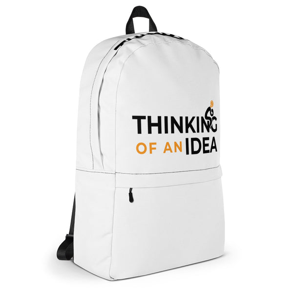 Thinking Of An Idea Backpack
