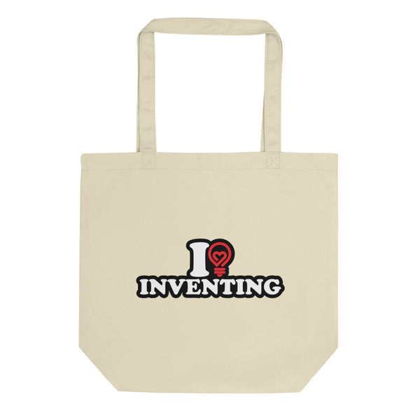 I Love Inventing Eco Tote Bag