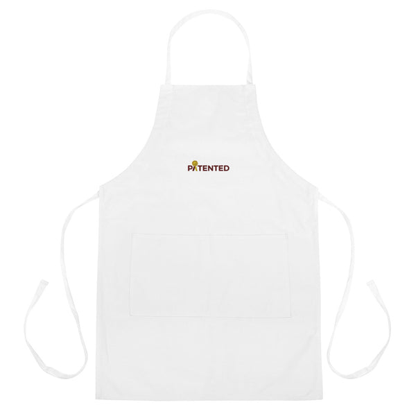 Patented Embroidered Apron