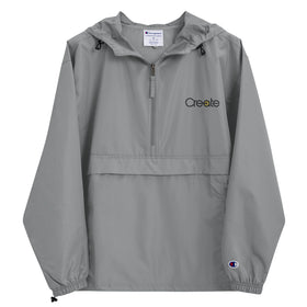 Create Embroidered Champion Packable Jacket