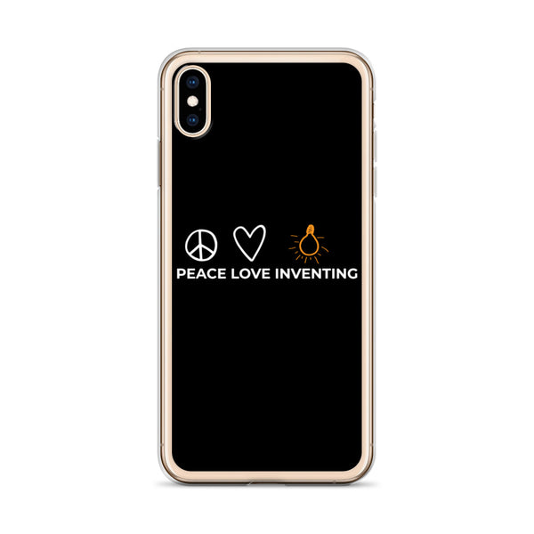 Peace Love Inventing iPhone Case
