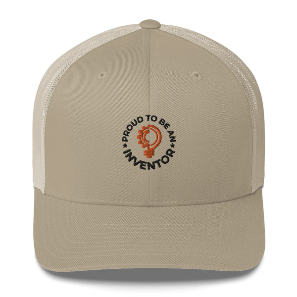 Proud To Be An Inventor Trucker Cap