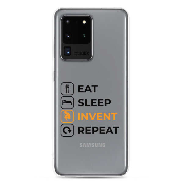 Eat Sleep Invent Repeat Samsung Case