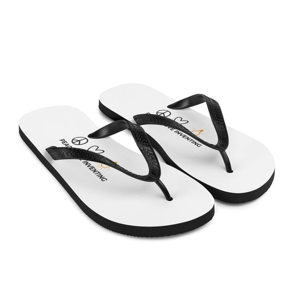 Peace Love Inventing Flip-Flops