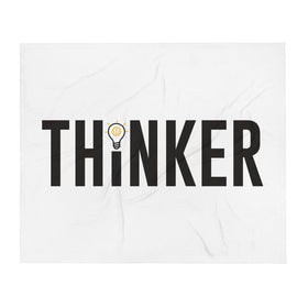 Thinker Throw Blanket