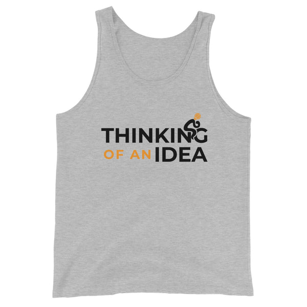 Thinking of an Idea Unisex Tank Top