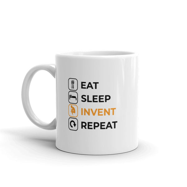 Eat Sleep Invent Repeat Mug