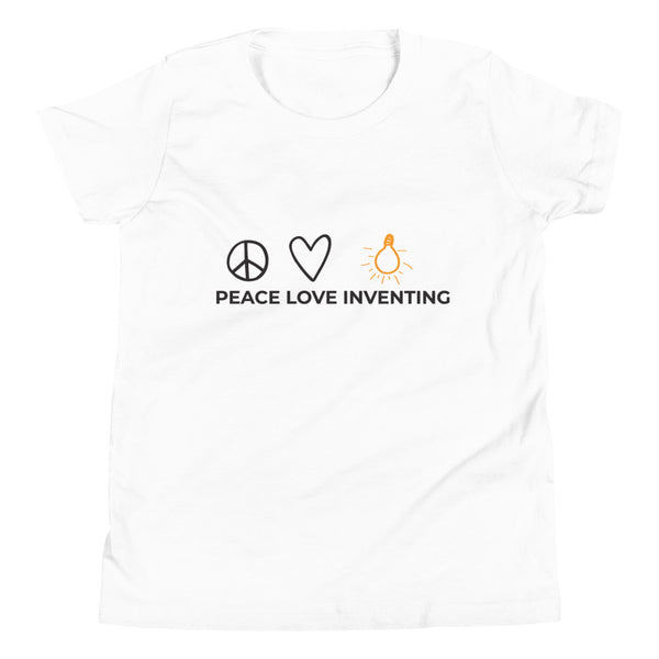 Peace Love Inventing Youth T-Shirt