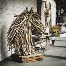 Load image into Gallery viewer, Large Driftwood Horse Head - Bonnie-Jane Design