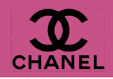 "4x Chanel 2"" Iron on transfers"
