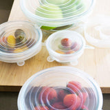 Reusable Silicone Stretch Lids - 6 pack