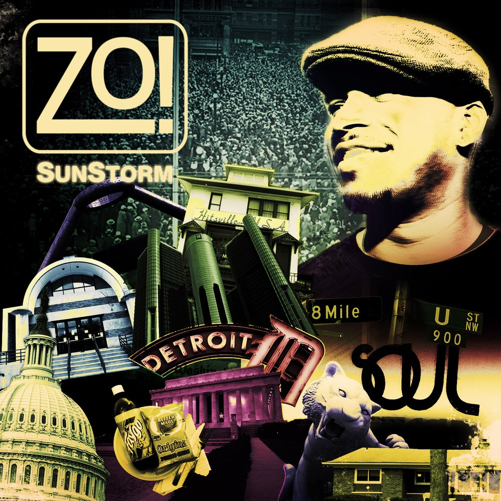 Zo! - SunStorm (2010) - CD