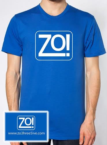Zo! Royal Blue T-Shirt (Men's)