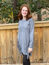 Load image into Gallery viewer, Heathmoor Fringe Sweater