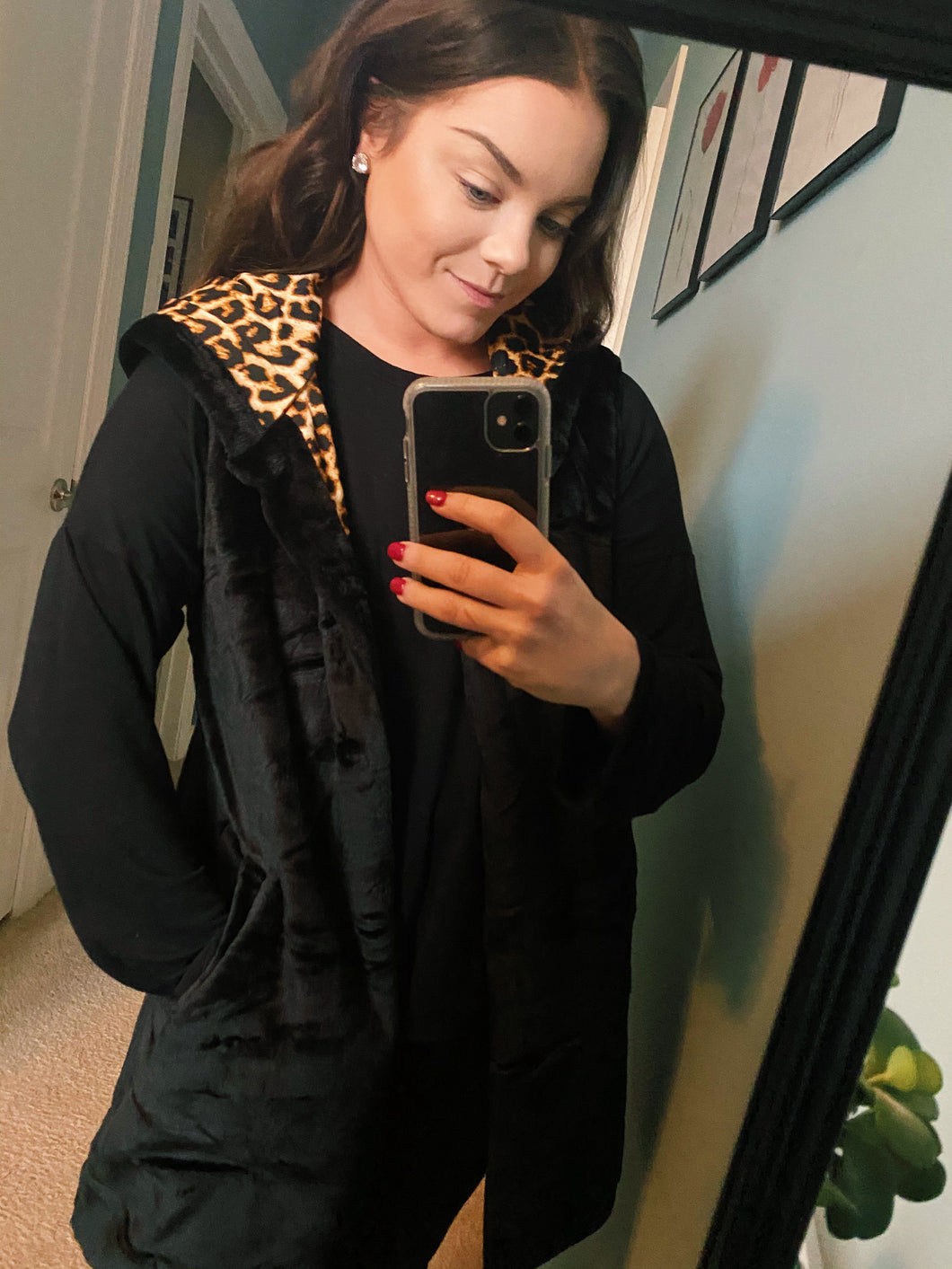 Into The Wild Leopard Vest