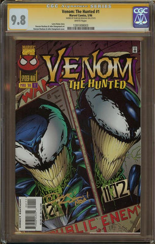 Venom: The Hunted #1 CGC 9.8