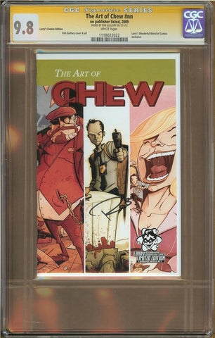 Art of Chew #1 Larry's Comics Edition CGC 9.8