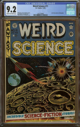 Weird Science #11 CGC 9.2