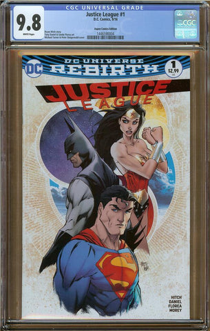 Justice League #1 Aspen Comics Edition CGC 9.8