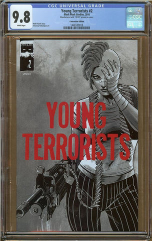Young Terrorists #2 Convention Edition CGC 9.8