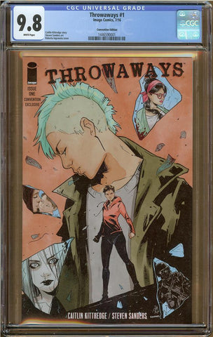 Throwaways #1 Convention Edition CGC 9.8