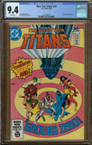New Teen Titans #10 CGC 9.4