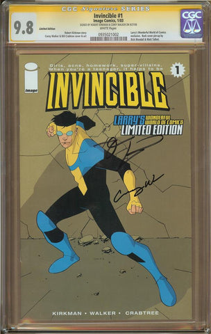 Invincible #1 CGC 9.8 Limited Edition