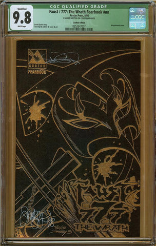 Faust/777: The Wrath Fearbook Leather Edition #nn (Qualified) CGC 9.8