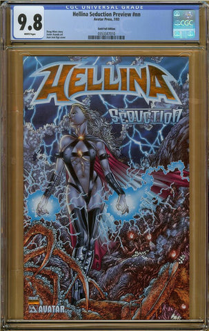 Hellina Seduction Preview #nn Gold Foil Edition CGC 9.8