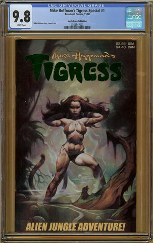 Mike Hoffman's Tigress #1 Jungle Green Foil Edition CGC 9.8