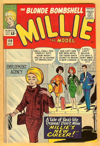 Millie the Model #120 VF