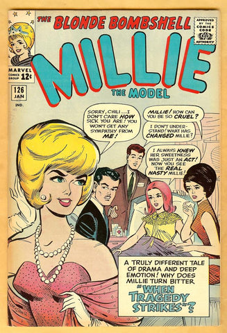 Millie the Model #126 VF+